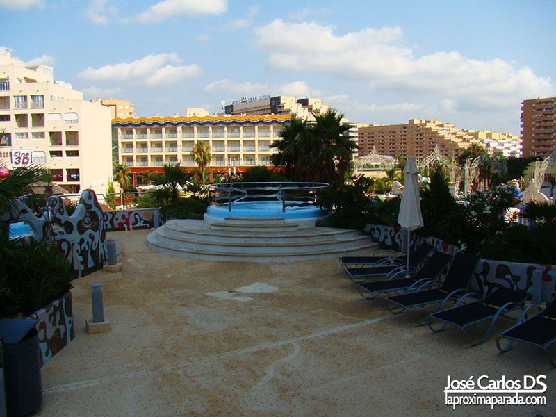 Jacuzzi Area VIP Balneario Marina D´Or