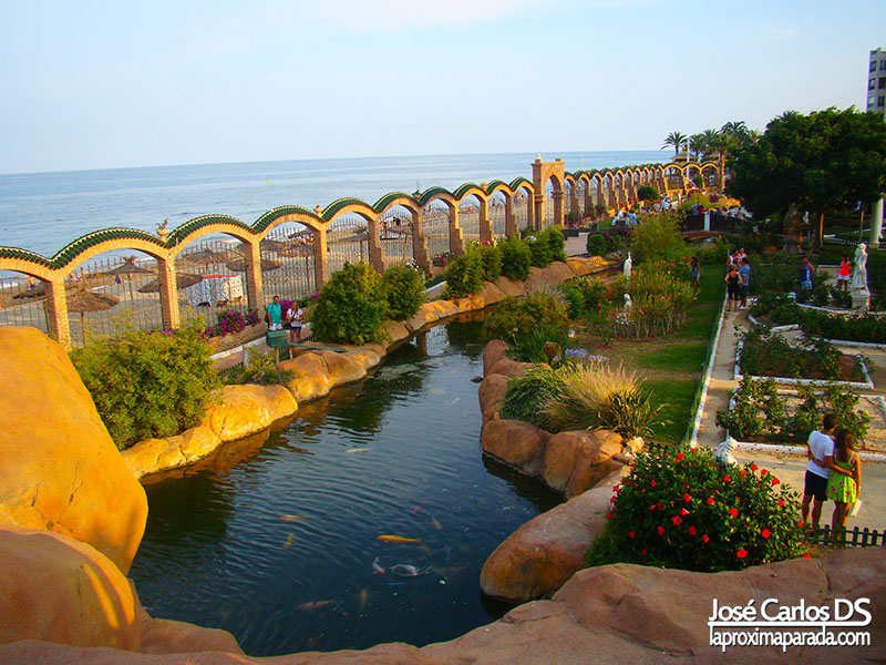 Lago Jardines de Marina d´Or