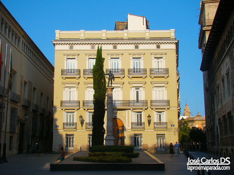 Palacio de la Generalidad Valenciana en Valencia