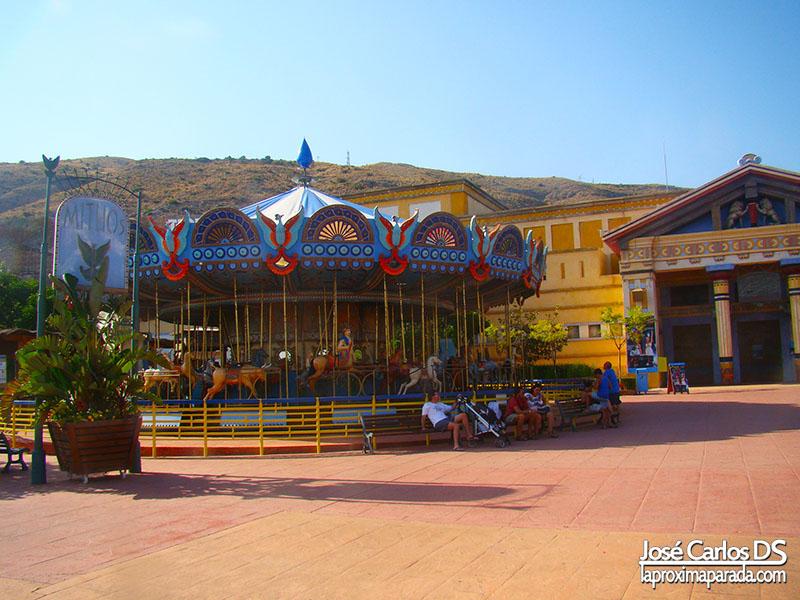 Carrusel en Las Islas de Iberia Park
