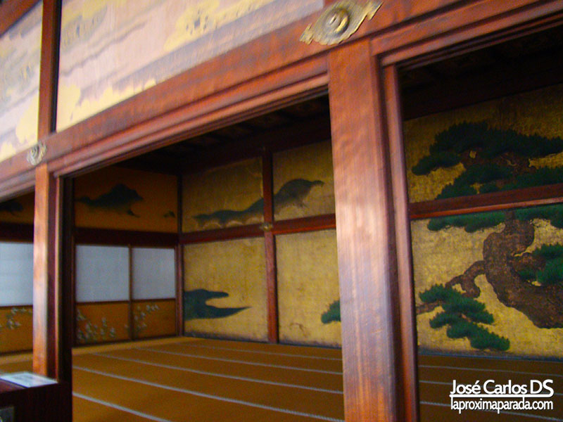 Interior Castillo Nijō, Kyoto