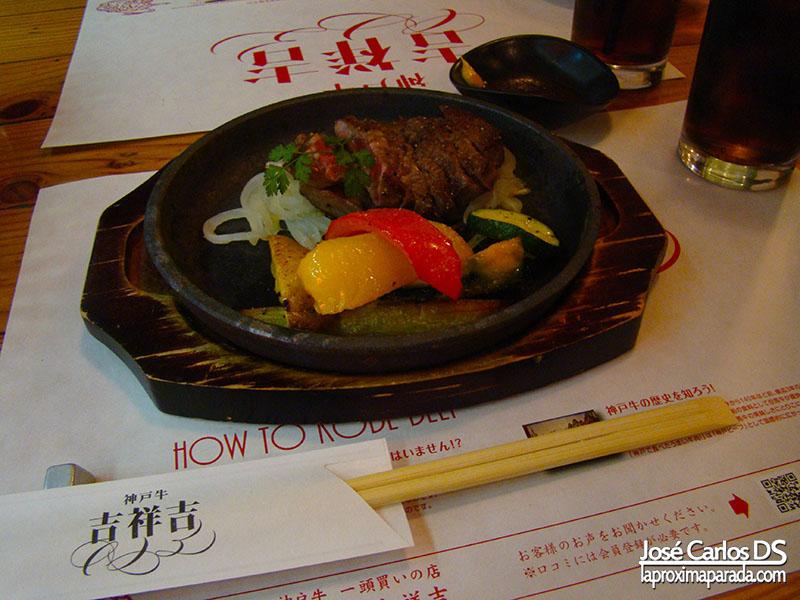 Cena Ternera de Kobe