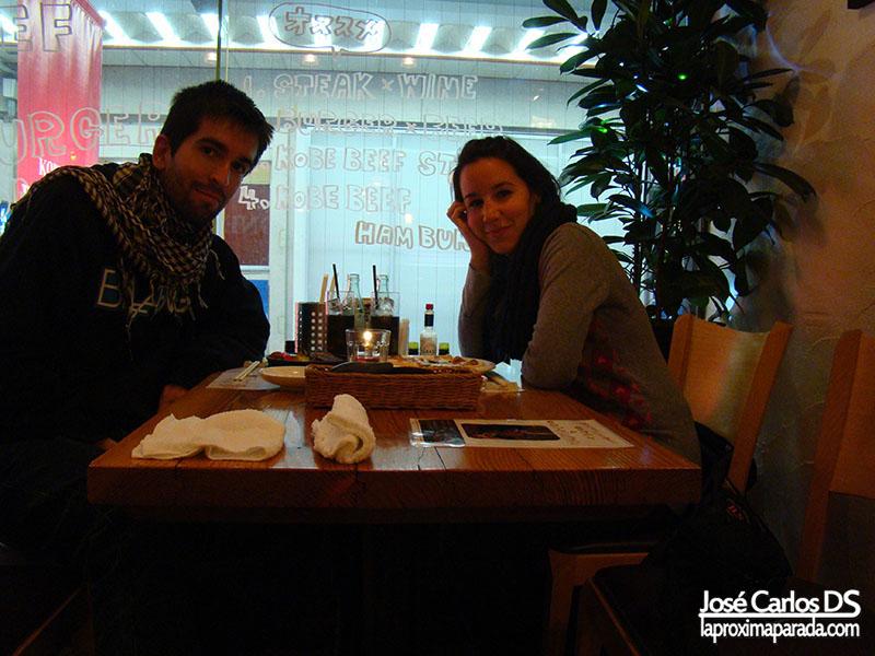 Cena en Kobe