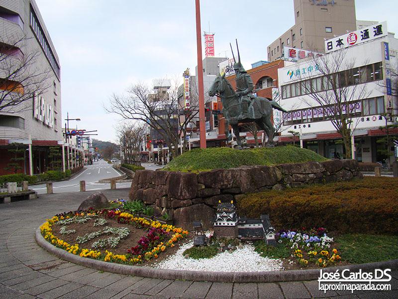 Estatua Samurai, Hikone