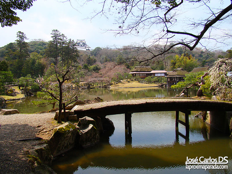 Jardines Castillo de Hikone