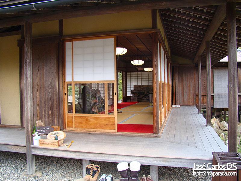 Casa de té - Jardines Castillo de Hikone