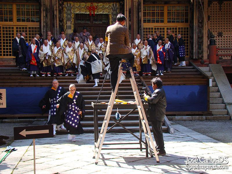 Ceremonia Templos Monte Hiei, Kyoto