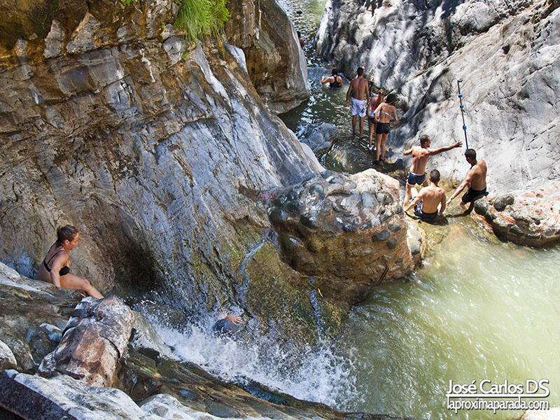Presa sobre el Río Guadalmina Benahavís