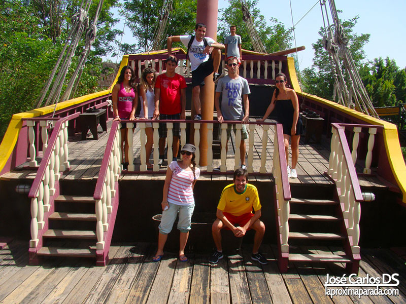 Barco Puerta de América Isla Mágica