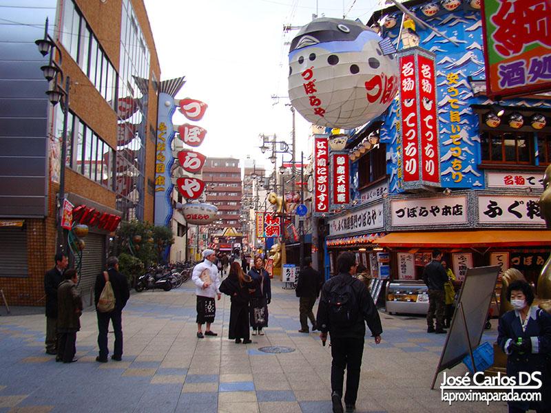 Distrito Shinnekai Osaka