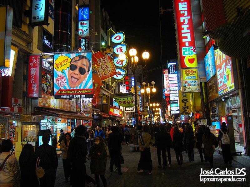 Noche Dotonbori Osaka