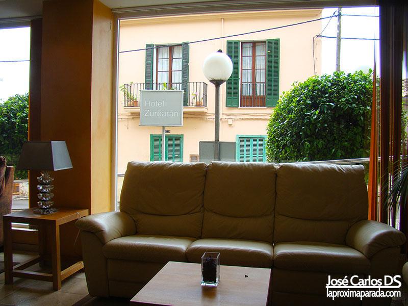 Hall Hotel Zurbarán Palma de Mallorca