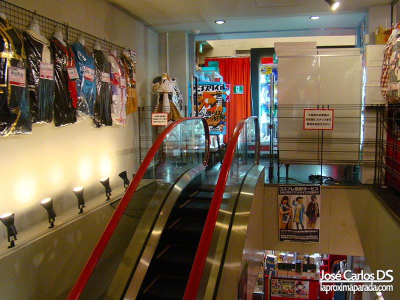 Cosplay Mandarake en Amerika-mura Osaka