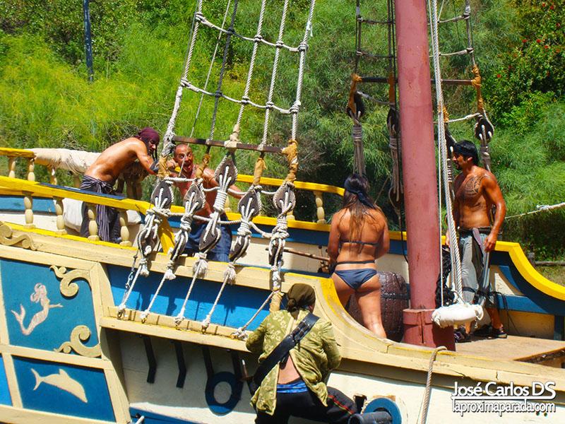 Motín La Guarida de los Piratas