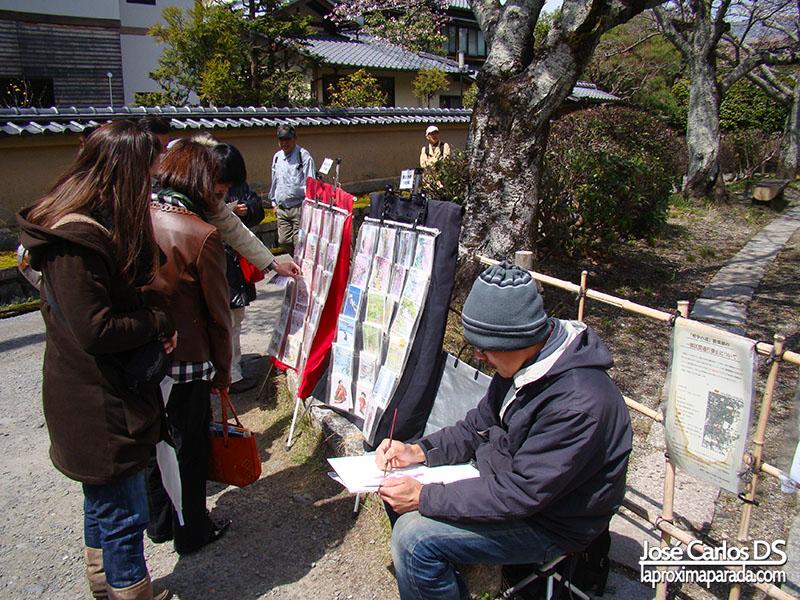 Pintor Camino de la Filosofía Kyoto