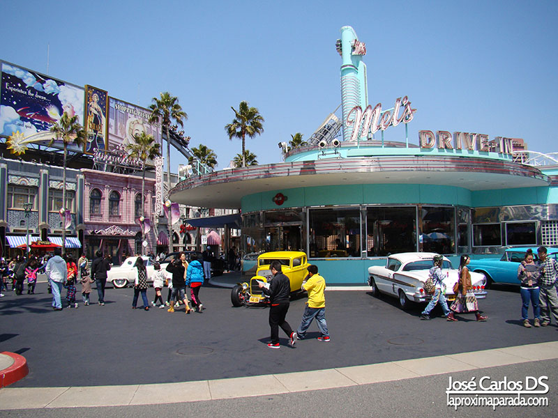 Universal Studios Hollywood American Graffiti