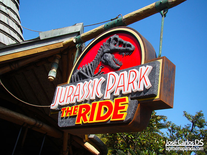 Universal Studios Jurassic Park The Ride