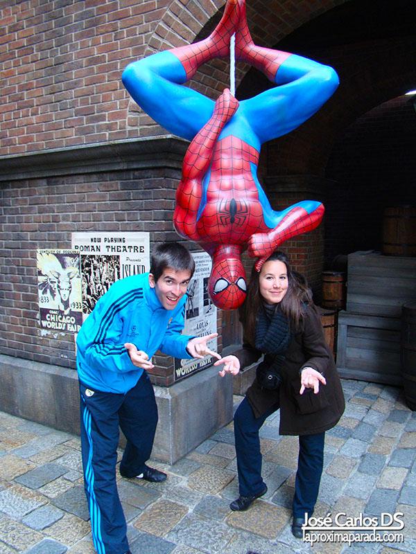 Universal Studios Spiderman New York