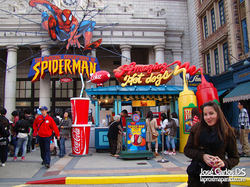 Universal Studios Spiderman New York