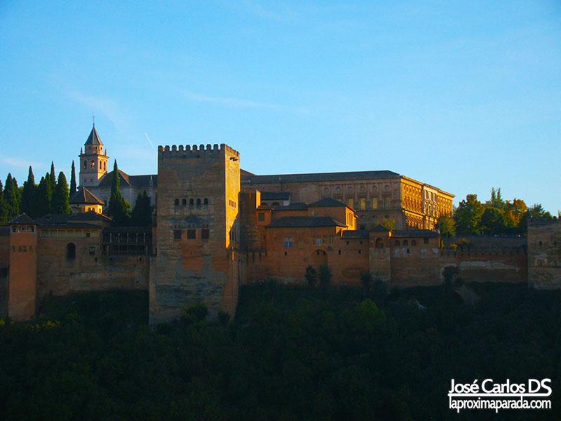 Panorámica Alhambra de Granada