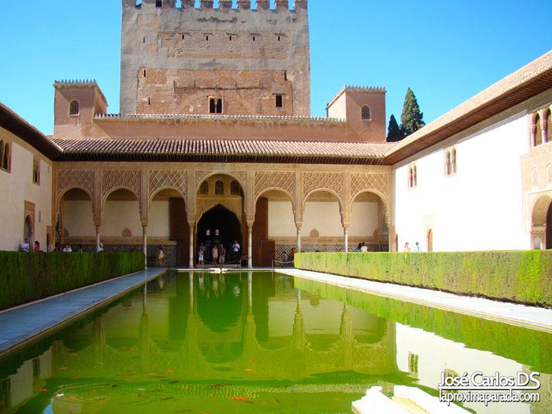 Alberca Alhambra de Granada