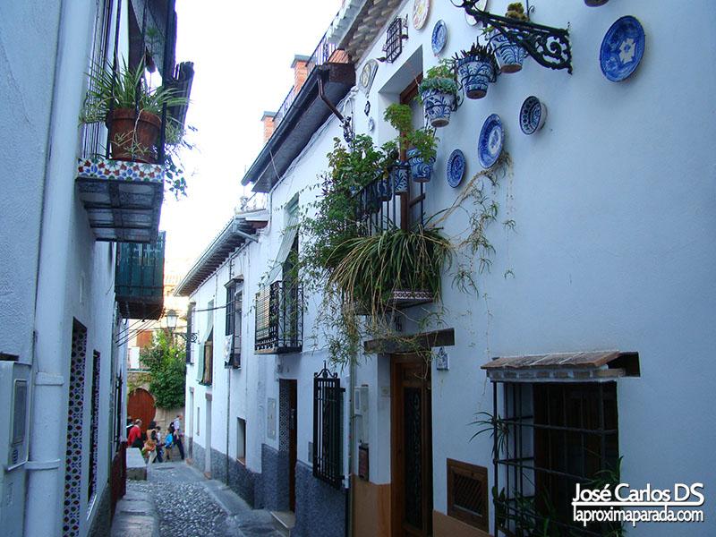 Casas Típicas Barrio Albaicín Granada