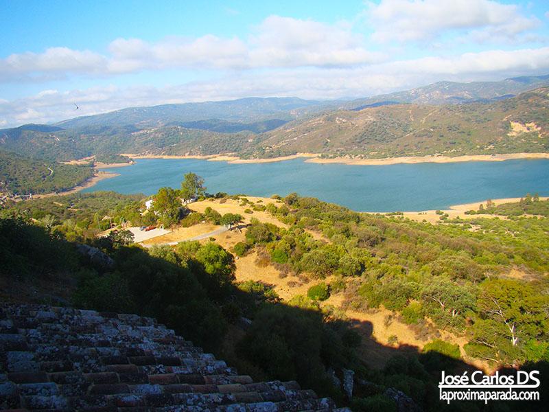 Embalse del Guadarranque Alcornocales