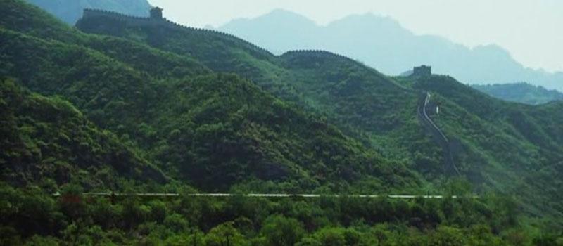 Gran Muralla China en Transsiberian