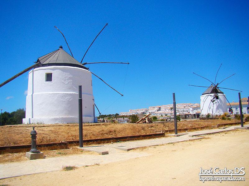 Los molinos de viento de Vejer