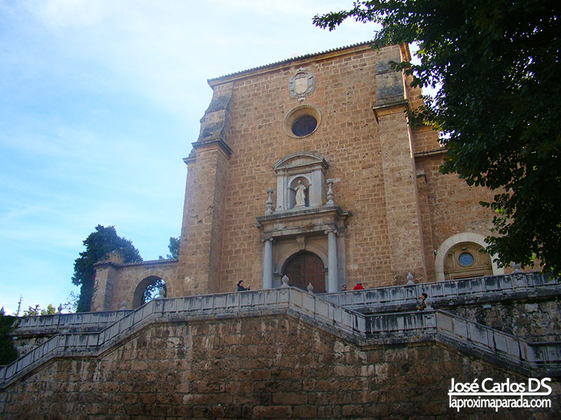 Entrada Monasterio Cartuja