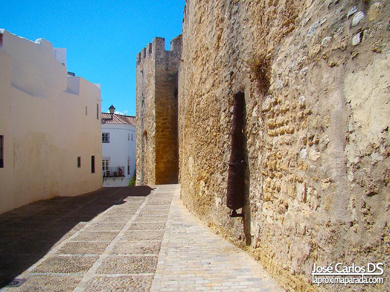 Murallas, pórticos y arcos de Vejer de la Frontera