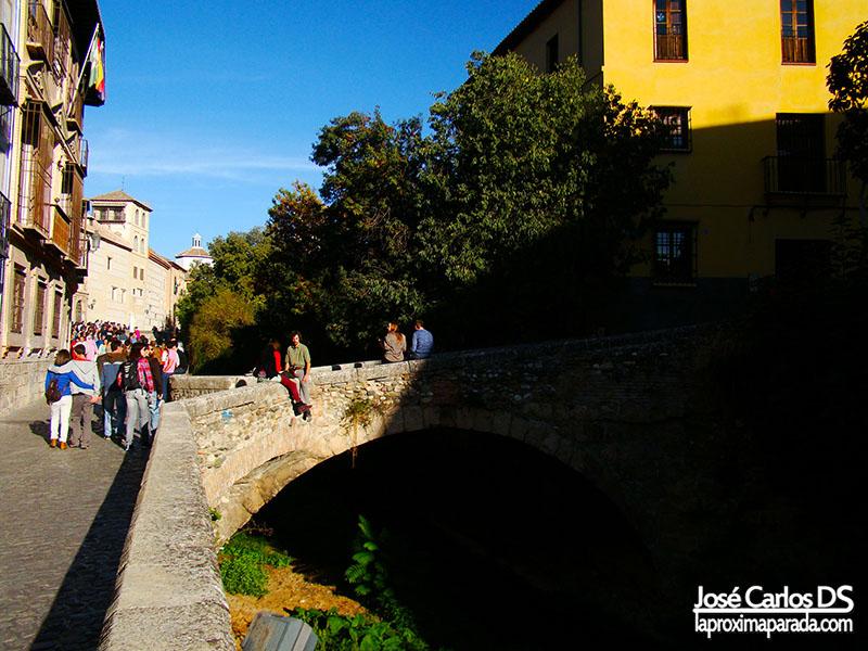 Paseillo de los Tristes Granada