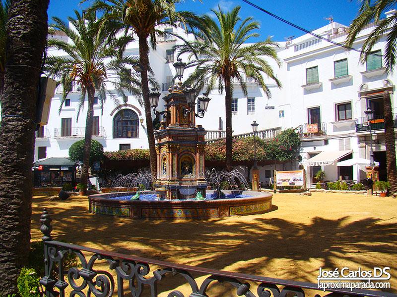 Plaza de España Vejer de la Frontera