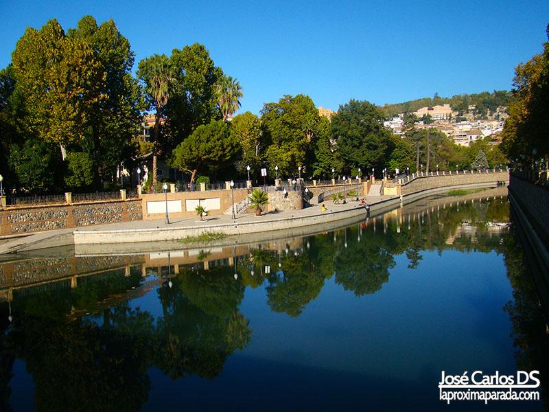 Río Genil en Granada