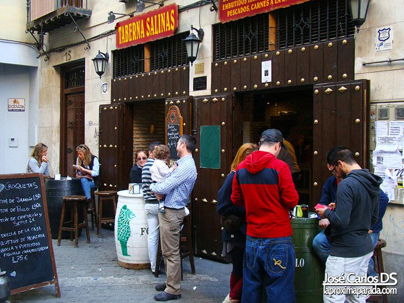 Tapear Restaurantes Granada