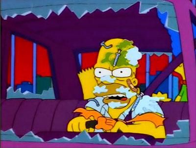 Homer Hate Nueva York