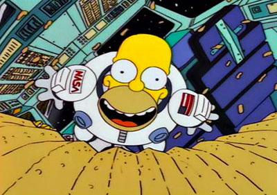 Homer Simpson Espacio