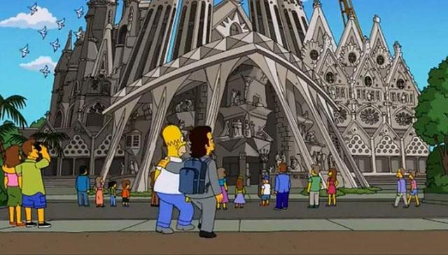 Los Simpsons Barcelona España
