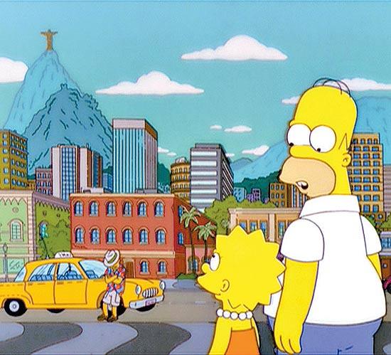 Simpsons Rio Janeiro Brasil
