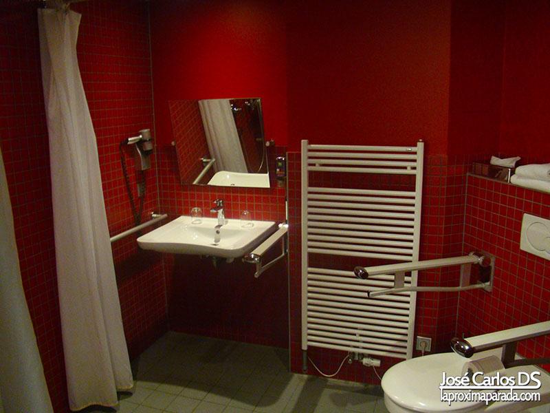Baño Adaptado Minusválidos ibis Styles Hotel Berlin Mitte
