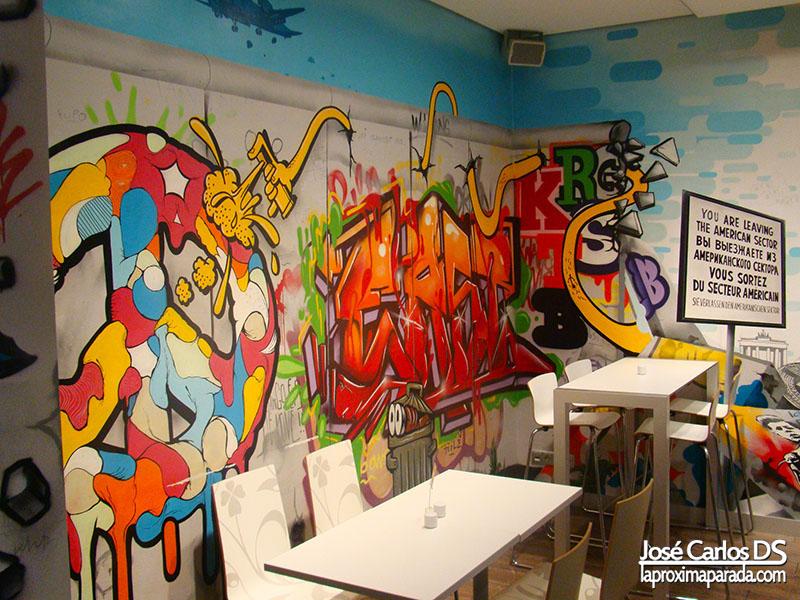 Graffitis ibis Styles Hotel Berlin Mitte