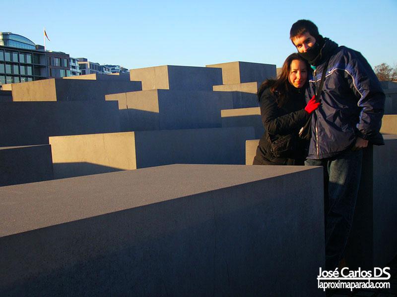 Monumento al Holocausto Navidad Berlín