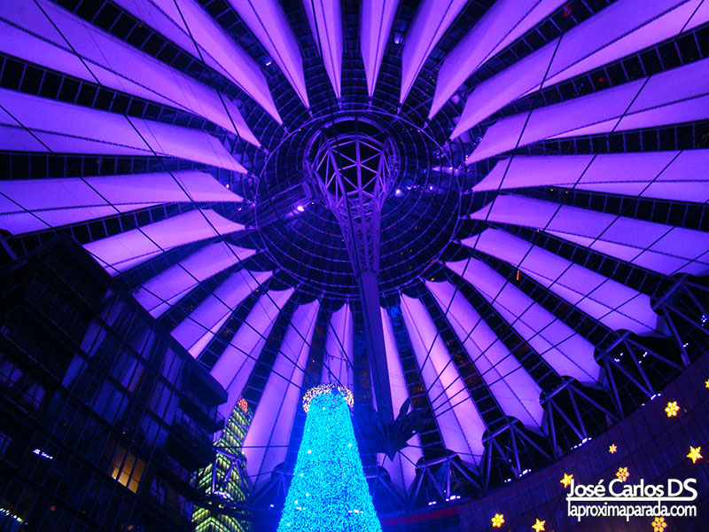 Sony Center Potsdamer Platz de Berlín