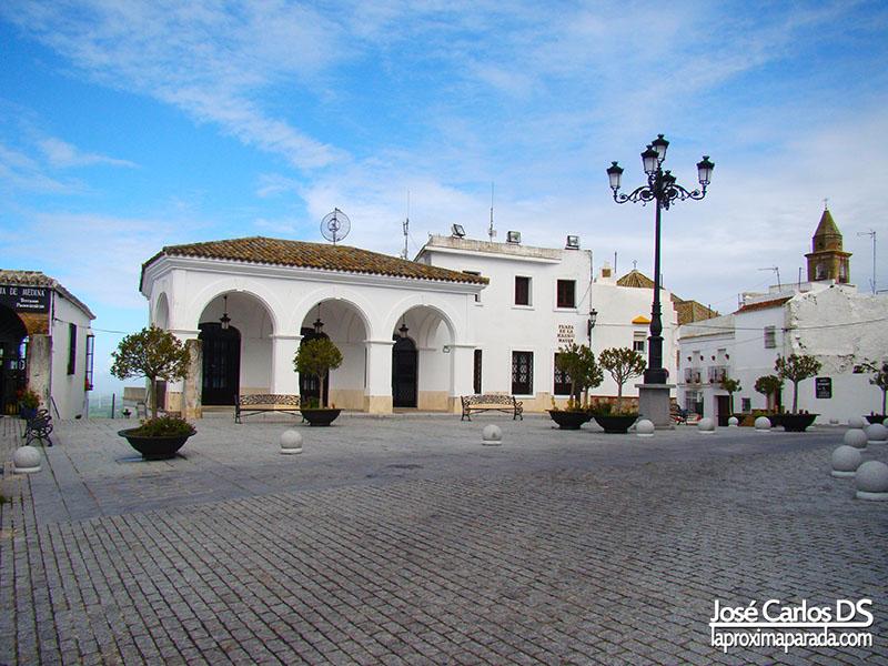 Plaza de la Iglesia Mayor Medina Sidonia