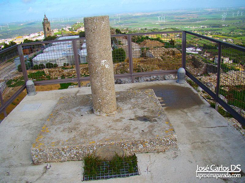 Punto geodesico Medina Sidonia