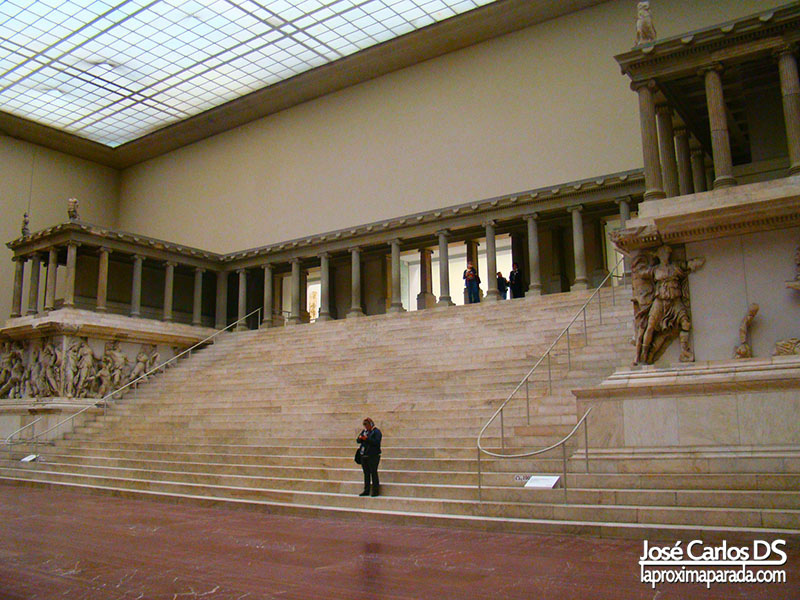 Altar de Zeus en el Museo de Pergamo Berlin