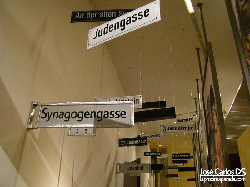 Calles Museo Judío de Berlín