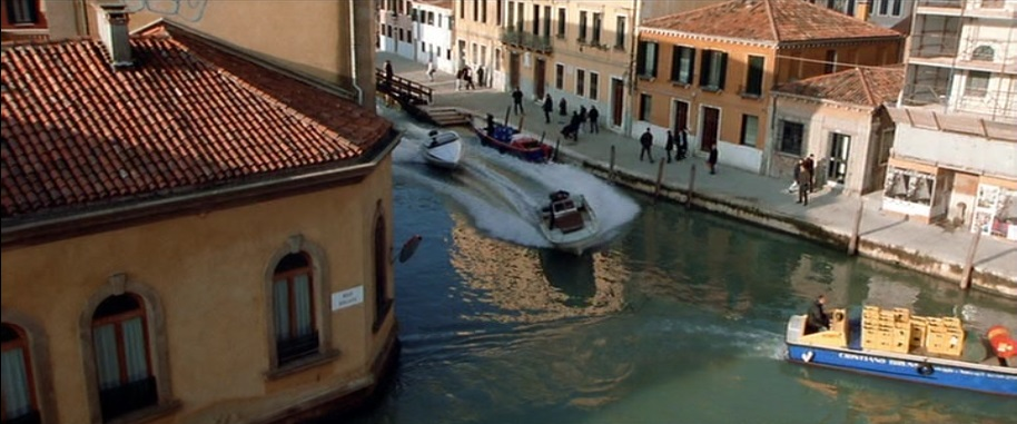 Canales de Venecia Italian Job