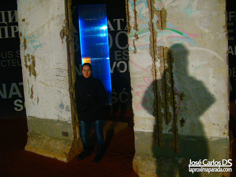 Exposición Muro Berlin