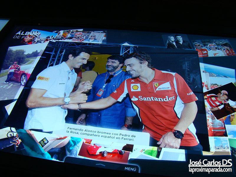 Fernando Alonso & Pedro de la Rosa Formula 1
